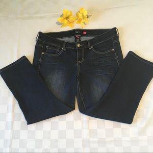 Torrid Dark Wash Stretch 5-Pocket Jeans, 14